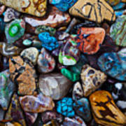 Beautiful Stones Print by Garry Gay