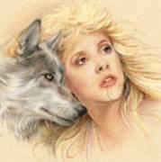 Beauty And The Beast Print by Johanna Pieterman