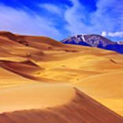 Beauty Of The Dunes Print by Scott Mahon