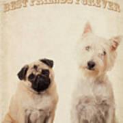 Best Friends Forever Print by Edward Fielding