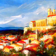 Beziers Print by K McCoy