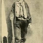 Billy The Kid 1859-81, Killed Twenty Print by Everett