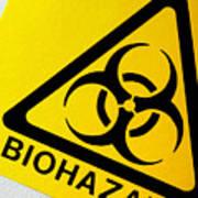 Biohazard Symbol Print by Tim Vernon, Nhs Trust