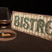 Bistro Still Life I Print by Tom Mc Nemar