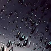 Black Rain Print by Steven Milner