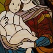 Blessed Art Thou Among Women-mary Print by David Gomm