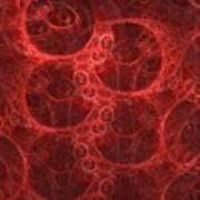 Blood Cells Print by Patricia Kemke