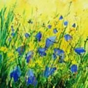 Blue Bells  Print by Pol Ledent