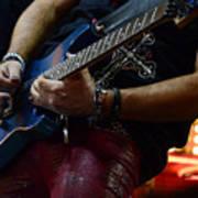 Boss Guitar Player Print by Bob Christopher