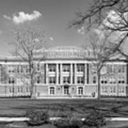 Bowling Green State University Hall Print by University Icons