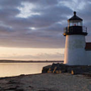 Brant Point Light Number 1 Nantucket Print by Henry Krauzyk