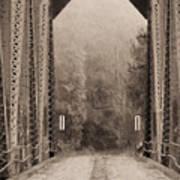Brooklyn Bridge Print by JC Findley