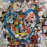 Bubblegum Love Print by Tim Allen