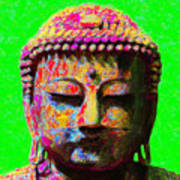 Buddha 20130130m100 Print by Wingsdomain Art and Photography