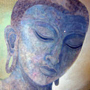 Buddha Alive In Stone Print by Jennifer Baird