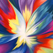 Burst Of Joy Print by Lucy Arnold