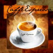 Caffe Espresso Print by Lourry Legarde