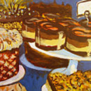Cake Case Print by Tilly Strauss