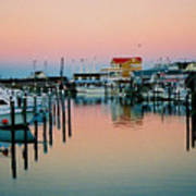Cape May After Glow Print by Steve Karol