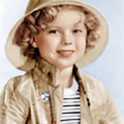 Captain January, Shirley Temple, 1936 Print by Everett
