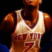 Carmelo Anthony - New York Nicks - Basketball - Mello Print by Lee Dos Santos