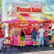 Carnival - The Variety Is Endless Print by Mike Savad