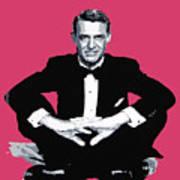 Cary Grant Print by David Lloyd Glover