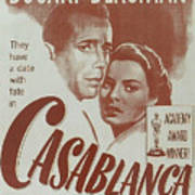 Casablanca Print by Georgia Fowler