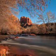 Cathedral Rock Sedona Arizona Print by Larry Marshall