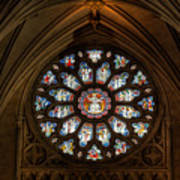 Cathedral Window Print by Adrian Evans