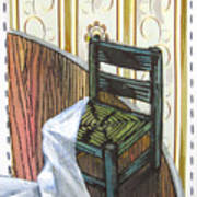 Chair Iv Print by Peter Allan