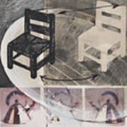 Chair Xi Print by Peter Allan