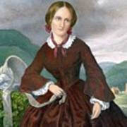 Charlotte Bronte 1816-1855 English Print by Everett