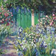 Charmed Entry - Monet Print by L Diane Johnson