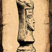 Chess Queen Print by Tom Mc Nemar