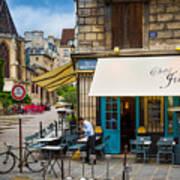 Chez Julien Print by Inge Johnsson