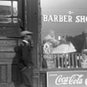 Chicago: Barber Shop, 1941 Print by Granger