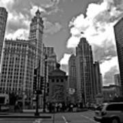 Chicago Print by Miranda  Miranda