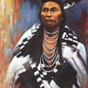 Chief Joseph Print by Harvie Brown