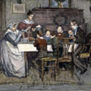 Christmas Carol Print by Granger