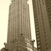 Chrysler Building Print by Debbi Granruth