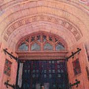 Church Doors Print by Kenny King