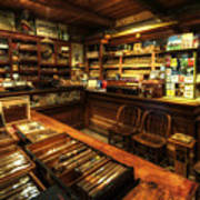 Cigar Shop Print by Yhun Suarez