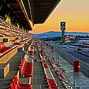 Circuit De Catalunya - Barcelona  Print by Juergen Weiss