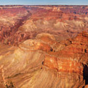 City - Arizona - Grand Canyon - The Great Grand View Print by Mike Savad