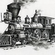 Classic Steam Print by James Williamson