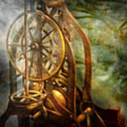 Clockmaker - The Day Time Stood Still  Print by Mike Savad