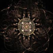 Clockwork Print by John Edwards