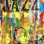 Club De Jazz Print by Sean Hagan