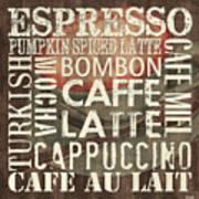 Coffee Of The Day 2 Print by Debbie DeWitt